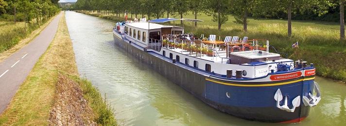 Barging - Burgundy