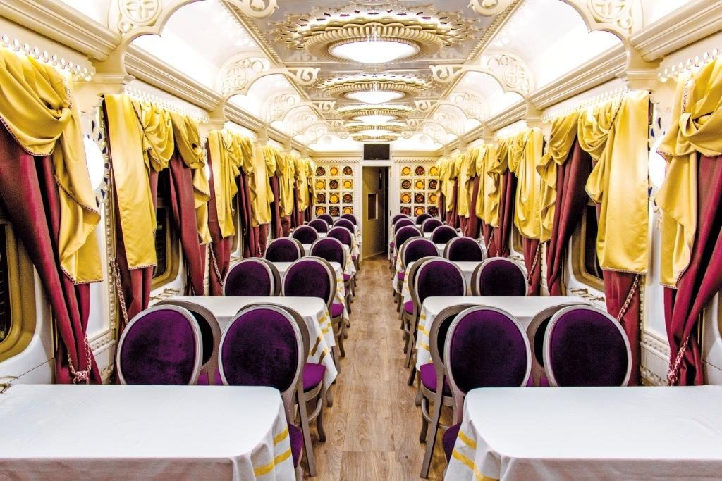 Tsar's Gold Train_Restaurant car 2
